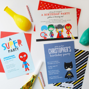 Super Heroes for Tiny Prints by Ann Kelle